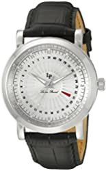 Lucien Piccard Watches Ruleta Leather Band Watch