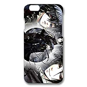 Iphone 6 ( 4.7 Inch ) Case Cool Anime Black Bulter 3D Generic Case Back Cover