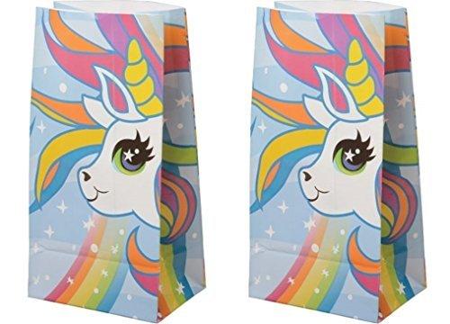 (Paper Unicorn Treat Bags (24 Bags) Unicorn)