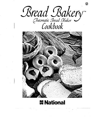 National Bread Machine Maker Instruction Manual & Recipes
