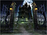 Create-A-Scene Eerie Estate 7ft Super-Size Scene 6pc