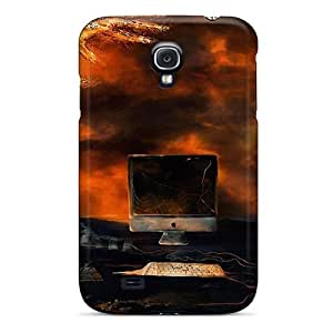Durable Protector Case Cover With Vulcano Pc Hot Design For Galaxy S4