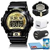 Casio G-Shock Watch (GD-X6900FB-1) Bundle