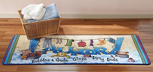 Extra Colorful Laundry Bubbles Runner