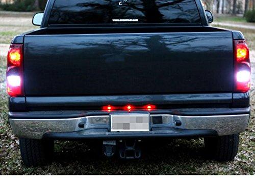 2000-2013 Chevy Chevrolet Silverado GMC Sierra 1500 2500 3500 Reverse Backup Back up LED Light Bulbs 4156 3156 3157 3056 4056 LED