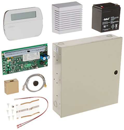 DSC TYCO Alarm System kit - PC1616 with RFK5501 Keypad Ver 4.6 and accessories