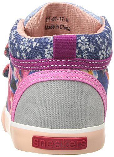 Kya mix Sneaker See Girls' Run watercolor Kai blue UpqcwvxC4