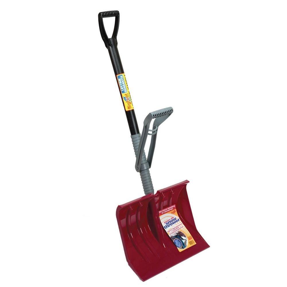 Durable 18'' Power Lift Snow Shovel with Premium Lifetime Handle- 54''h X 18''w X 4''d