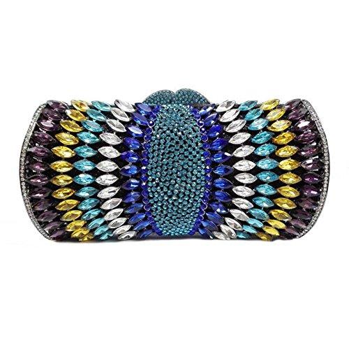 Chirrupy Chief - Cartera de mano para mujer Morado morado small multicolor