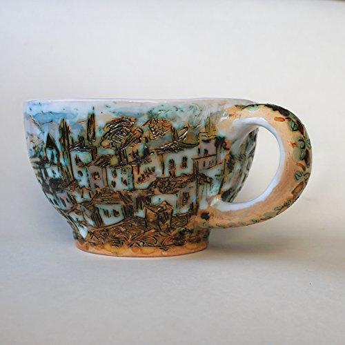 ceramic-unique-soup-mug-handmade-coffee-mug-favorite-mug-hand-painted-textured-rustic-mug-cappuccino