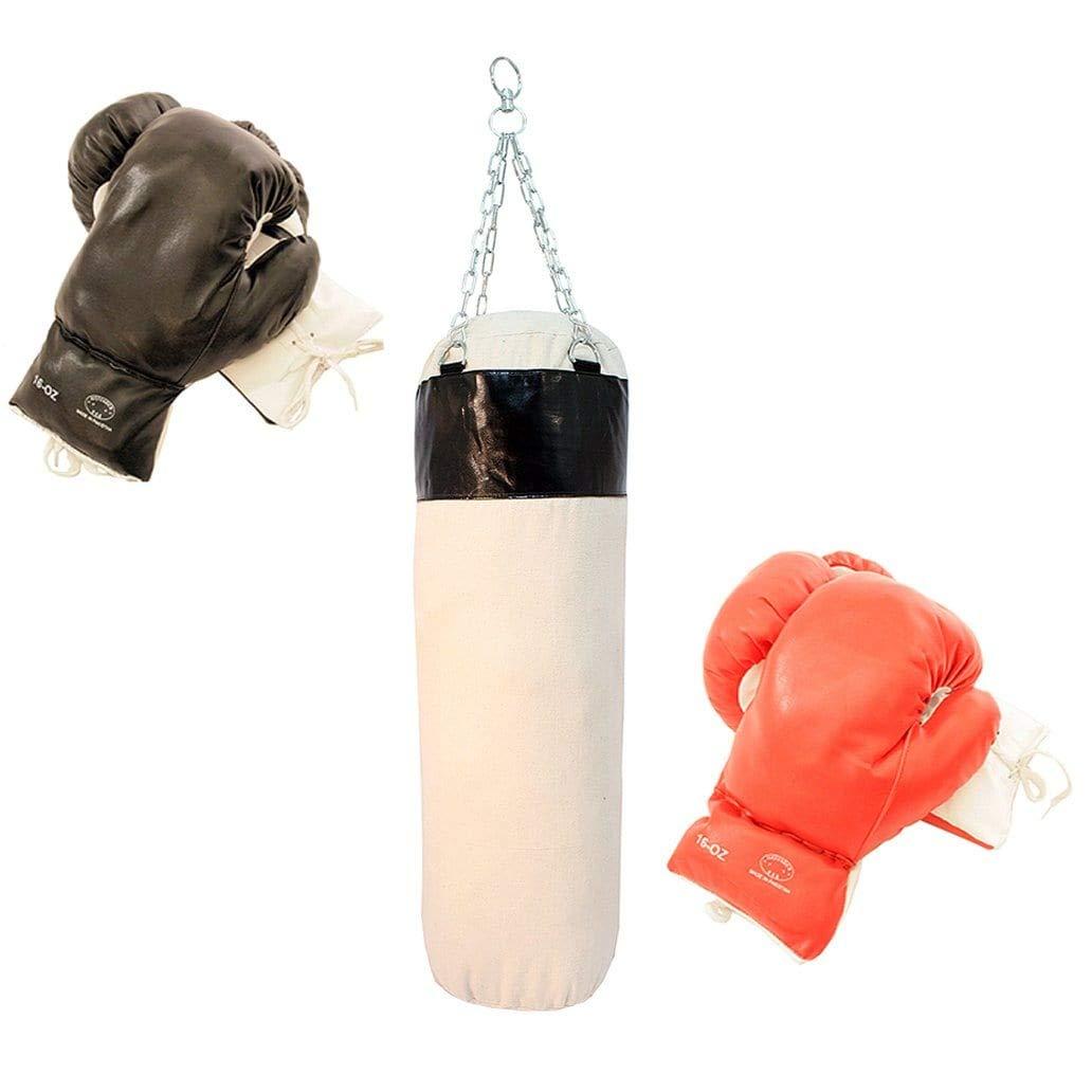 最後のボクシングセットパンチPro 2ペア手袋with Punching Bag B00FXY23JO
