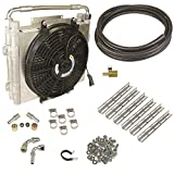 BD Diesel 1030606-DS-12 Xtrude Double Stacked Transmission Cooler Kit