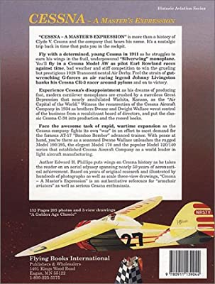 CESSNA A MASTER/'S EXPRESSION AIRPLANE HISTORY BOOK