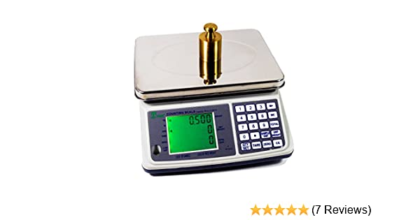 Amazon.com : Tree Scales MCT Plus 16 Counting Scale - 16 Lbs X 0.0005 Lbs - Rechargeable! With 2 Year Warranty! : Postal Scales : Office Products