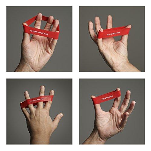 GripGym Finger Stretcher & Extensor Hand Exerciser 5 Resistance Levels