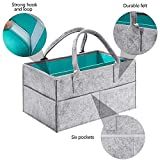 HBlife Baby Diaper Caddy Organizer with