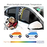 LFOTPP 2017 2018 Mazda CX-5 Car Window Sun Shade, Sunscreen Mesh Curtain Magnet Type, Premium Breathable Mesh Sun Shield, Protect Baby/Pet from Sun's Glare & Harmful UV Rays