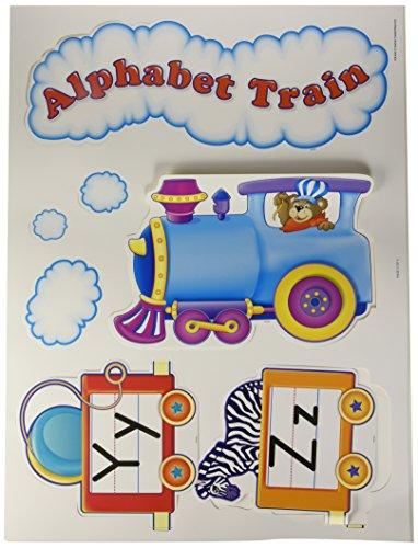Teacher Created Resources Alphabet Train Bulletin Board Display Set (4421) ()