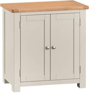 The Furniture Outlet Portland Painted Oak 1 Door Cupboard