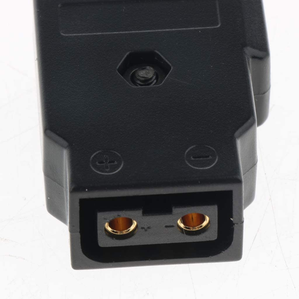 D-Tap Plug Connector Anton Bauer V Lock Battery DSLR Power Female 2-pins