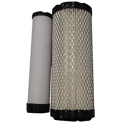 Kubota Replacement Air Filter Set for L3130F L3450 L3560 L4200 L4240 (Kubota Filter Air)