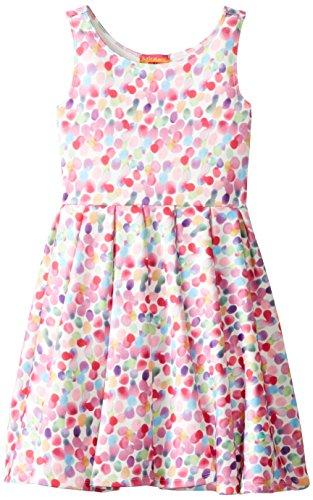 (Kate Mack Little Girls' Up Up and Away Scuba Dress, Multi,)