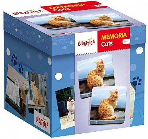 Memo Cats Ludattica 58082 Reflection Game