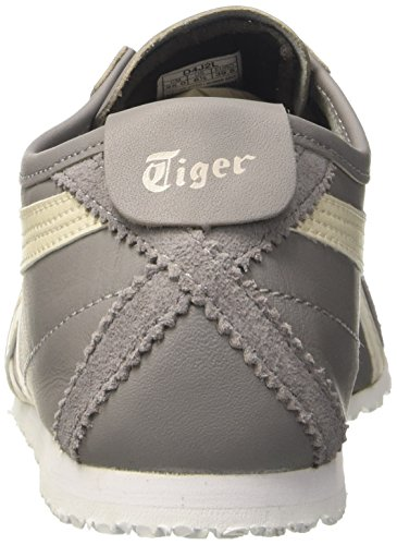 66 Sneakers birch Unisex adulto Da Mexico Grigio aluminum Asics Scarpe Basse Ginnastica g6pZqW1xw