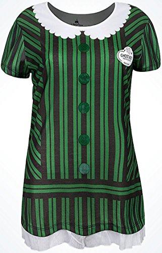 (Disney Parks Haunted Mansion Ghost Hostess Women's Costume T-Shirt XS-XXL)