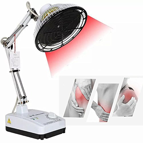 Carejoy TDP Therapeutic Apparatus , TDP Far Infrared Lamp For Mineral Heat Therapy Desktop TDP Lamp with Changeable Head For Head, Arthritis Joint Back Pain Relief