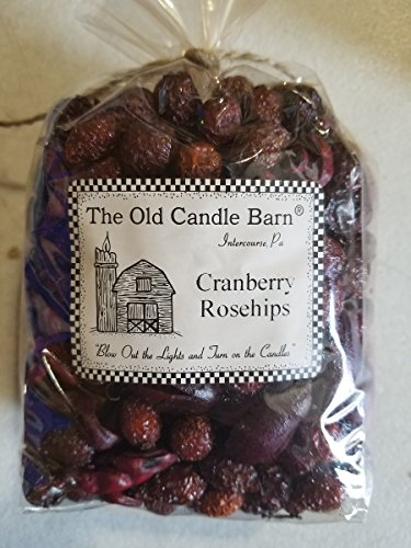 Cranberry Rosehips 4 Cup Bag - Well Scented Potpourri - Made In USA -