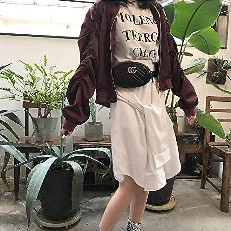 MISSKEKE Damen Mode-H/üfttaschen PU Leder Blau CG ❤️ Mini Belt Bauchtasche und Handytasche 2018 Star mit dem gleichen Absatz Oval Taschen Schultertasche Damen Kleine Handtasche