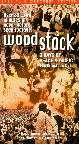 Woodstock - 3 Days of Peace & Music (The Director's Cut) [VHS]