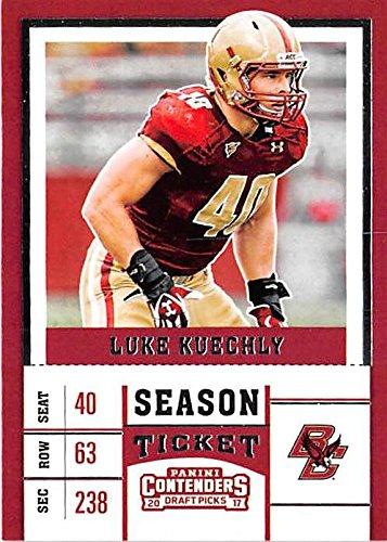 size 40 d2c42 e472a Luke Kuechly football card (Boston College Eagles BC NCAA ...