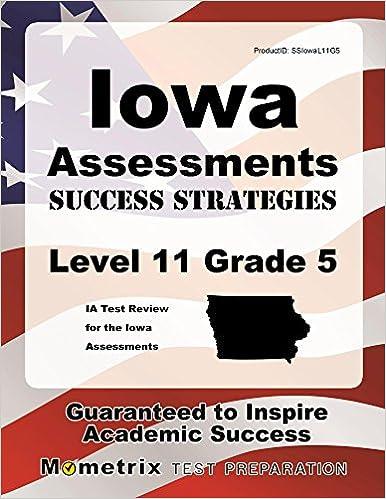Iowa assessments success strategies level 11 grade 5 study guide ia iowa assessments success strategies level 11 grade 5 study guide ia test review for the iowa assessments study guide edition fandeluxe Gallery