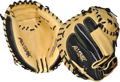 All Star Pro Elite CM3000SBT 33.5 Inch Baseball Catchers Mitt - Right Hand Throw by All star