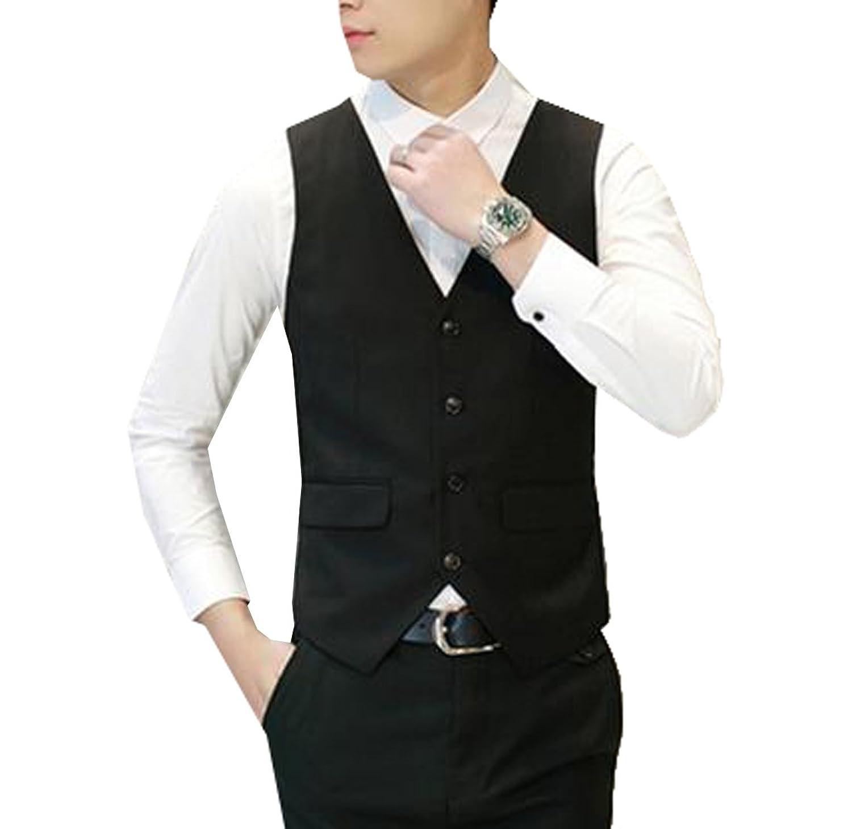 Coolred Men's Premium Soild Top Sleeveless Tee Formal Casual Vest