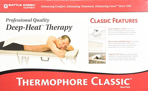Battle Creek Thermophore Automatic Moist Heat Pack 14 x 27""