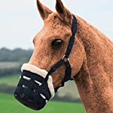 #10: AITOCO Safety Horse Grazing Muzzle Horse Mask Equestrian Supplies with Adjustable Full Horse Size