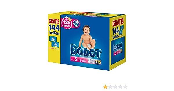 Dodot - Pañales para bebé, talla 5, 112 piezas: Amazon.es: Salud y cuidado personal