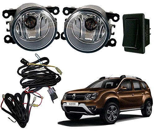 auto pearl premium quality car fog lamp lights with wiring kit andauto pearl premium quality car fog lamp lights with wiring kit and switch for renault duster 2016 (without plastic sash cover) amazon in car \u0026