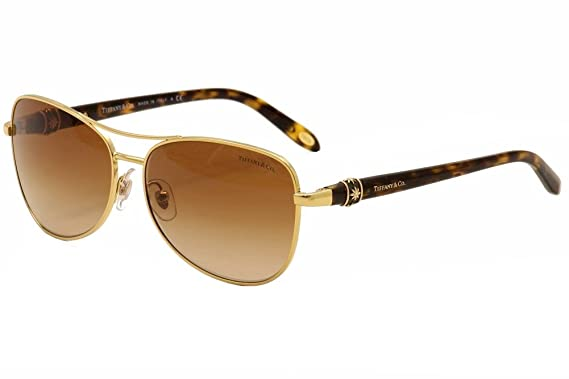 Gafas de Sol Tiffany & Co. TF3036B GOLD BROWN GRADIENT ...