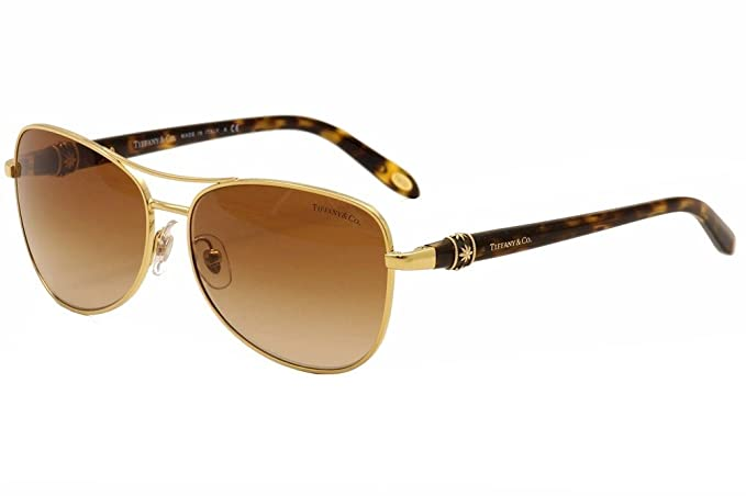 Gafas de Sol Tiffany & Co. TF3036B GOLD BROWN GRADIENT ...