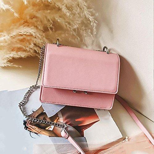 Liu Pink Borsa Piccola Quadrata Da A Black Donna colore Tracolla rrndzAPqT
