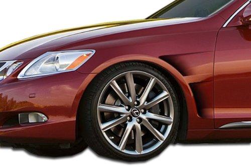 (2006-2011 Lexus GS Series GS300 GS350 GS430 GS450 GS460 Duraflex GT Concept Fenders - 2 Piece)