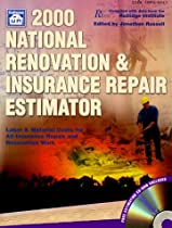 2000 National Renovation & Insurance Repair Estimator: With Data from the Rutlidge Institute (National Renovation & Insurance Repair Estimator (W/CD))