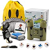 Airmoon Nature Discover Kit, Platinum Bird Watching Set for Kid, Pack of 24, for Explorer Jungle, Camping, Family Hiking, Educational and Bird Watching, Attractive package, Gift idea