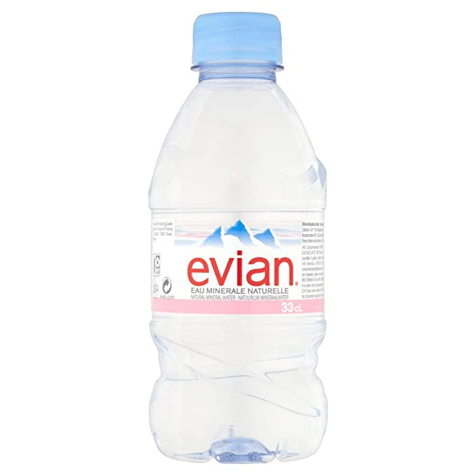 a11b83601d Evian Natural Mineral Water, 330ml (Box of 24 Bottles): Amazon.in: Grocery  & Gourmet Foods