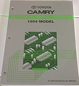 toyota camry electrical wiring diagram 1994 model 1994 model rh amazon com