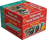 Science and Social Studies Fun Flash Cards, Flashcard Box Staff and Vincent Douglas, 158845567X
